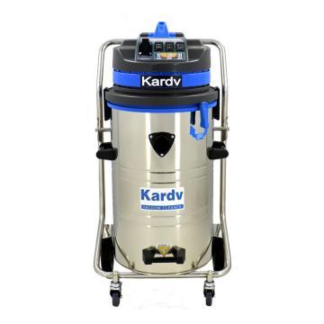 凯德威 不锈钢吸尘器,DL-3078B 3600W 80L