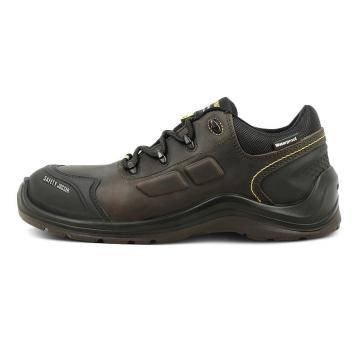 Safety Jogger LAVA-130防砸防刺穿防静电防水安全鞋,深褐色,38