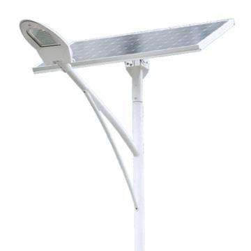 华荣 LED太阳能路灯 ZD003-XL60W,60W 白光,含6米灯杆 地笼 蓄电池组 太阳能电池板,单位:个