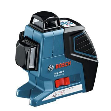 博世/BOSCH 线段激光测量仪,GLL3-80主机,红光3条线360度,产品编号:0601063S00