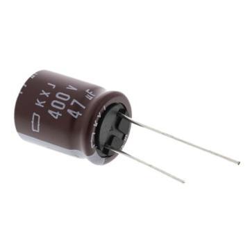 Nippon Chemi-Con 铝电解电容器,EKXJ401ELL470ML20S 2个/包