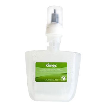 金佰利KLEENEX无色无味泡沫洗手液,91591 1200ml×2瓶/箱(需另购分配器) 单位:箱