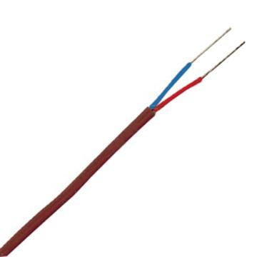 OMEGA T型雙重絕緣熱電偶線,特別限制誤差 高性能 Neoflon PFA絕緣層 200英尺長,TT-T-24-SLE-200