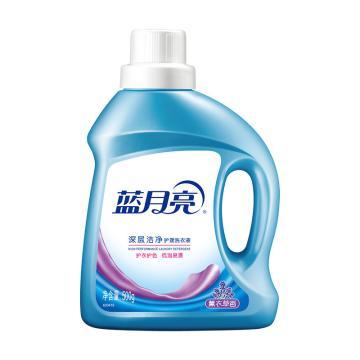 蓝月亮深层洁净洗衣液薰衣草 500g*24瓶/箱 单位:瓶
