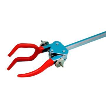 三爪夹万用夹,锌合金电镀(双螺母调节),夹持0-110mm(单杆)