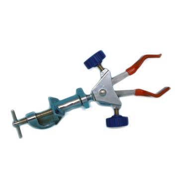 两爪变向万用夹(小号),锌合金电镀(双螺丝调节),夹持0-40mm