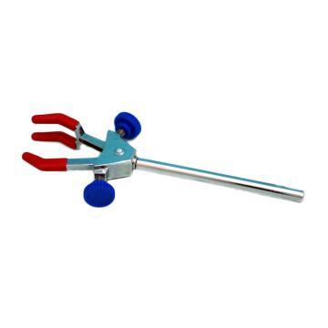 三爪万用夹(小号),锌合金电镀(双螺丝调节),夹持0-60mm