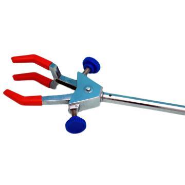 三爪万用夹(大号),锌合金电镀(双螺丝调节),夹持0-85mm