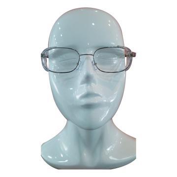 霍尼韦尔Honeywell 矫视眼镜,含不锈钢镜架防蓝光PC镜片 近视<1000度 散光<200度或老花<300度