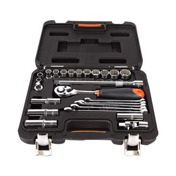 手工具套装,25件套12.5mm系列综合组套,S010025