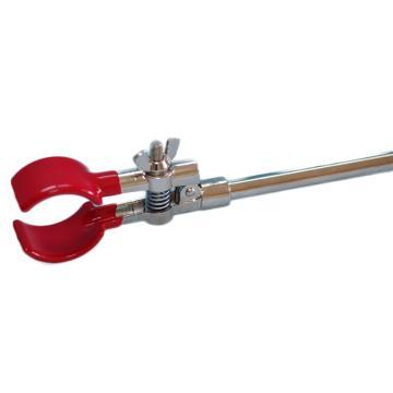 圆口二爪万用夹(中号),锌合金电镀,夹持20-40mm,口宽25mm