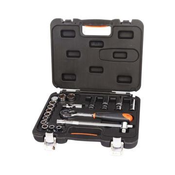 手工具套裝,20件套12.5MM系列公制組套,S010020