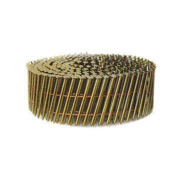 美特光杆卷钉,钉子长度50mm线径2.3mm,30卷*300支,9000枚/箱