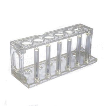 试管架,有机玻璃6孔,Φ22mm