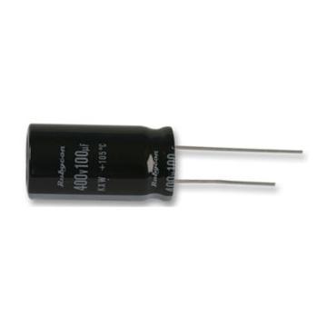 rubycon 铝电解电容,35ZLH100MEFC6.3X11