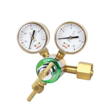 捷锐减压器,190IN-80-011,单级式轻巧型,适用于氩气、氦气、氮气,最大进气压力15MPa,进气螺纹W21.8-14RH(F)