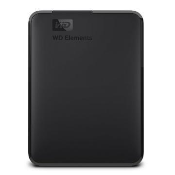 西部数据 移动硬盘,2TB(WDBUZG0020BBK)WD Elements新元素系列 2.5英寸 USB3.0单位:个