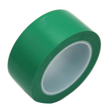 地板警示划线胶带,100mm×33m,0.15mm厚,绿色