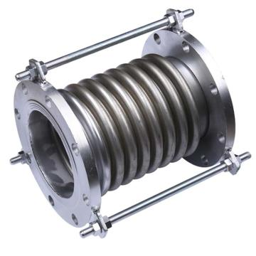 遠大閥門 軸向內壓式波紋補償器 JDZ-16,DN50,PN16,8波,法蘭材質:Q235,波紋材質:不銹鋼304