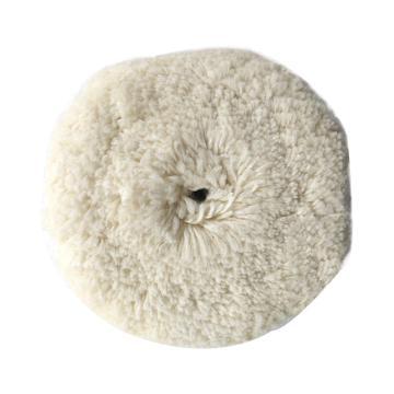 """3M系带羊毛抛光轮,7""""白色,5701"""