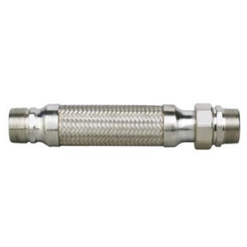 """埃美柯/AMICO 1""""外丝不锈钢空调波纹连接管,668C-250mm"""