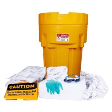 西斯贝尔SYSBEL 65加仑泄漏应急处理桶套装(吸油型)