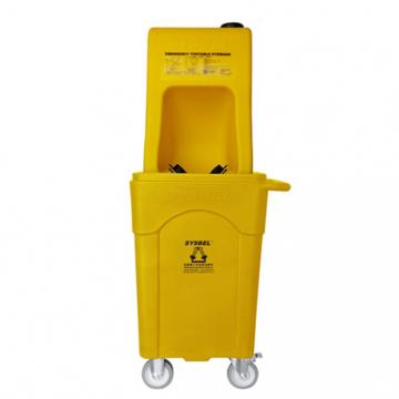 西斯贝尔SYSBEL 便携式洗眼器A型(塑料推车版),16G/60L,WG6000AD