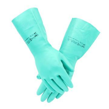 安思尔Ansell 丁腈防化手套,37-676-9,Solvex系列