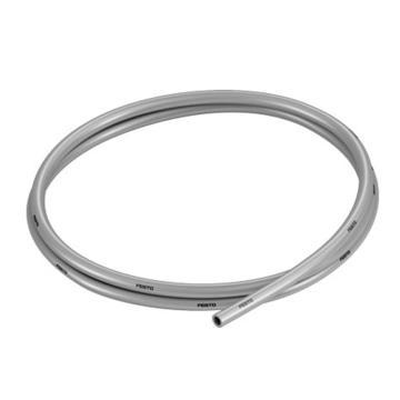 费斯托FESTO PU气管,耐水解,外径*壁厚Φ6×1,银色,50M/卷,PUN-H-6x1-SI,558279