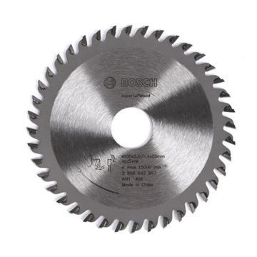 """博世圆锯片,(4"""") 100x2.0/1.4x20 T40 木材圆锯片升级版,2608642967"""