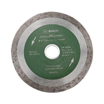 博世云石片,105mm 连续齿瓷砖专用(经济型),2608603729