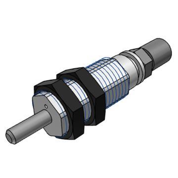 SMC 针型气缸,CJPB10-10H4-B