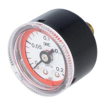 SMC 双色表盘型压力表,G46-2-01-L