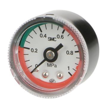 SMC 双色表盘型压力表,G46-10-01-L