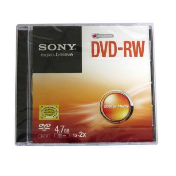 索尼 4.7G/1X-2X DVD-RW光盘 单片装 (片)