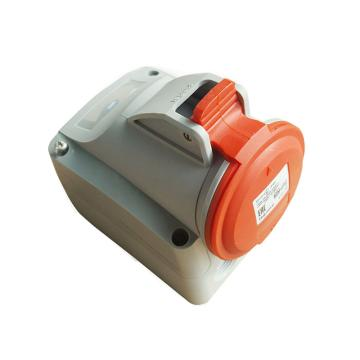 罗格朗Legrand 明装插座,IP44 380V 16A 2P+E,555157