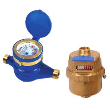 埃美柯/AMICO 銅殼銅殼活塞立式水表,LXH-15A,絲口連接,銷售代號:011-DN15