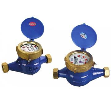 埃美柯/AMICO 铜壳半液封水表,LXSY-15E,丝口连接,销售代号:078-DN15