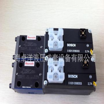 博世力士乐Bosch Rexroth 换向阀,0811404611,4WRPEH6C4B12L-2X/G24K0/A1M