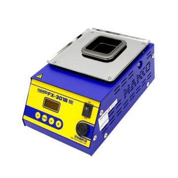 白光HAKKO 数显式温控调温熔锡炉,200W,FX-301B,锡炉 锡锅 焊锡锅 温控锡炉