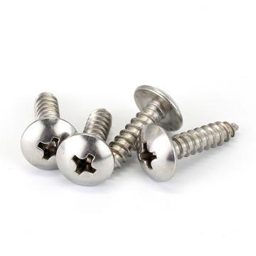 法思特 JISB1122T十字大扁头自攻钉尖端,ST2.9-1.1X6.5,不锈钢304,洗白,5000支/盒