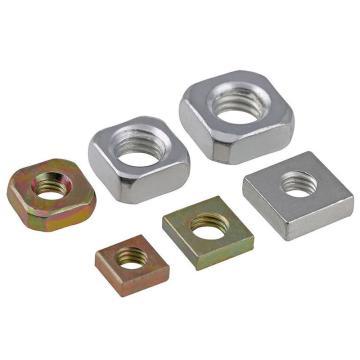 方型螺母 M6mm 碳鋼 鍍鋅 G4.8