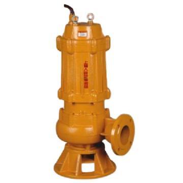 人民水泵/SRM JYWQ35-25-37,JYWQ系列自动搅匀潜水排污泵,法兰连接,带出水弯头,标配电缆10米