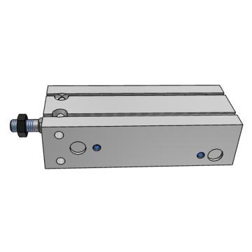 SMC CU帶氣緩沖型自由安裝型氣缸,CDU25-70A