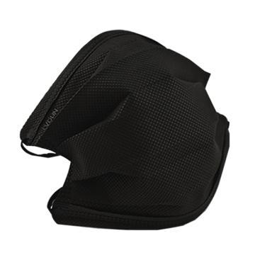 绿盾 无纺布口罩,黑色,5只/包