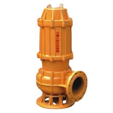 人民水泵/SRM 250WQ500-7-22 WQ系列无堵塞潜水排污泵,法兰连接,带出水弯头,标配电缆10米