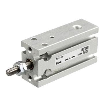SMC 自由安裝型氣缸,單作用彈簧壓回型,CDU10-5S