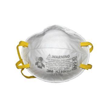 3M 防塵口罩,8210PLUS,N95 舒適版,20個/盒