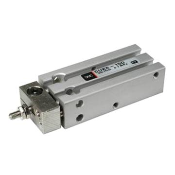 SMC 自由安装型气缸,单杆双作用,CUK10-15D