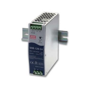 明纬MEANWELL 直流电源,SDR-120-24